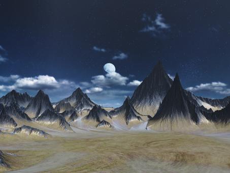 山脈と母星