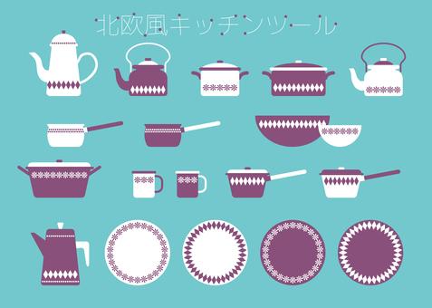 Scandinavian kitchen tool