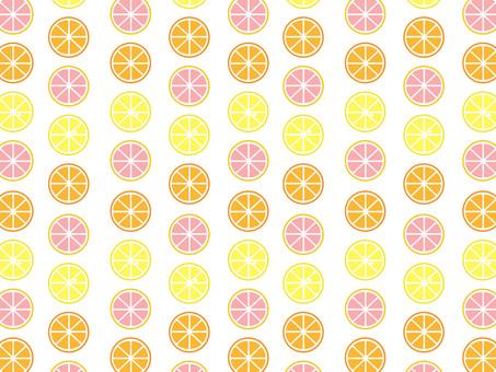 오렌지와 레몬과 자몽
