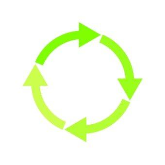 Circle vector printing