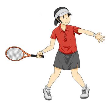 Women's tennis player
