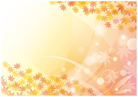 단풍과 가을 바람
