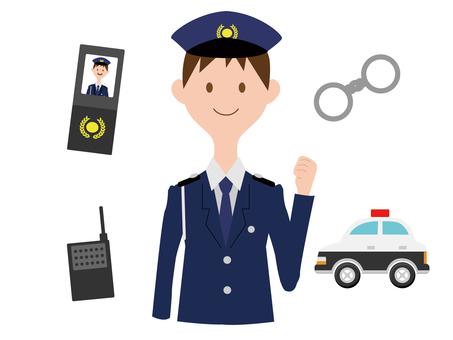 Male policeman