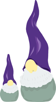 Northern Europe Santa Claus 2 Purple