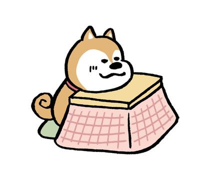 Dog Kotatsu