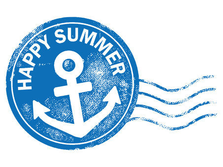 Postmark of summer stamp 001
