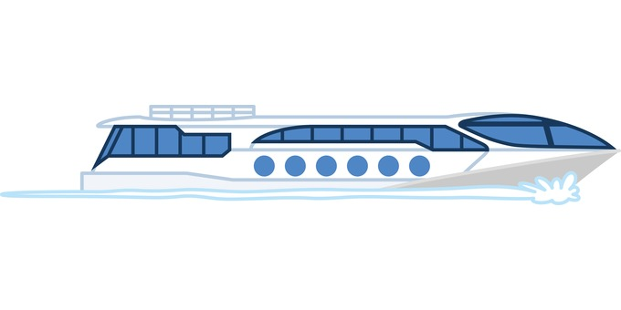 Water cruise boat cruise Tokyo