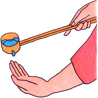 Hand water (Hatsumodera)