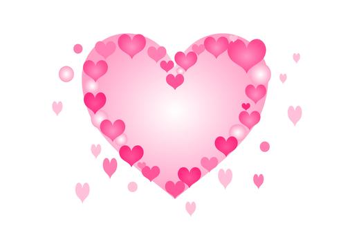 Heart, heart, frame, transparent background