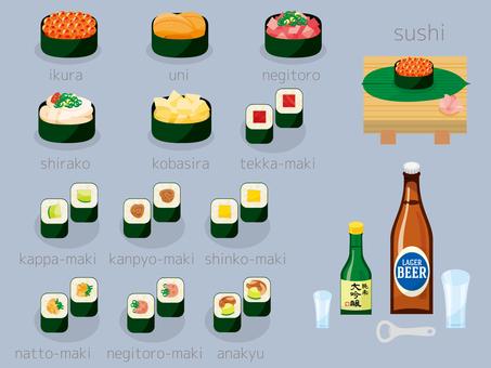 お寿司いろいろセット03