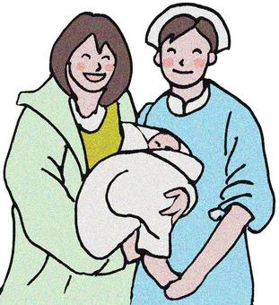 護士和寶寶1