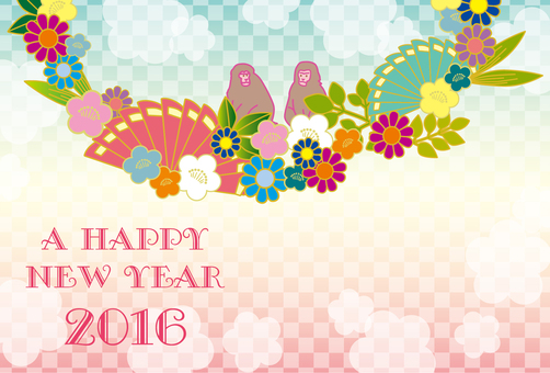 2016 New Year's card design 7