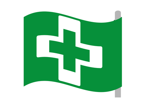 Safety and health flag