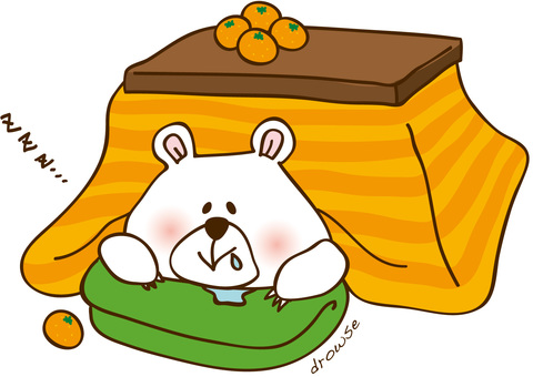 Utatto in the kotatsu