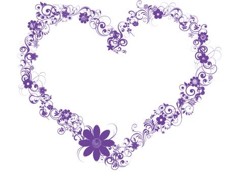 Frame purple