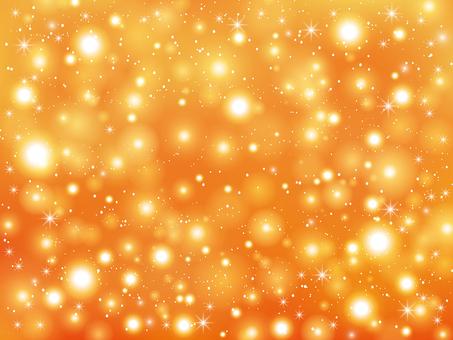 Orange sparkling background