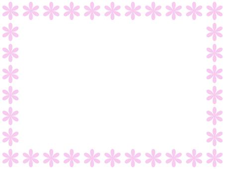 Flower frame 2 (pink)