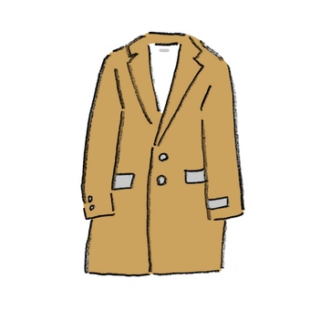 Beige coat (jacket)