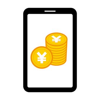 Sumaho money illustration