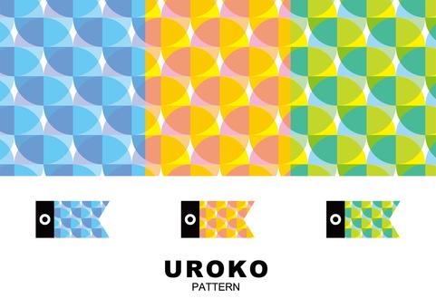 Geometric pattern · UROKO