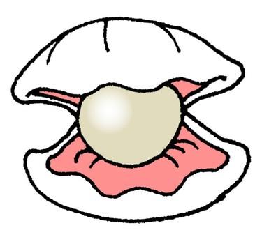 Shellfish and pearls