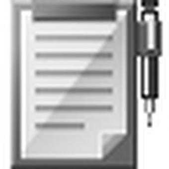 Paper icon (black)