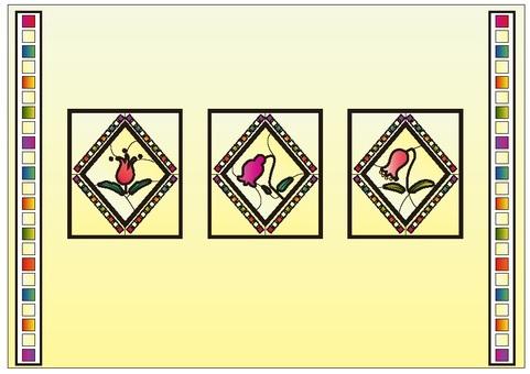 框架彩色玻璃2