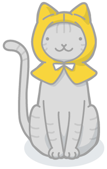 Disaster Illustration Cat