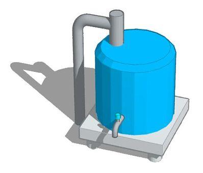 Water supply tank