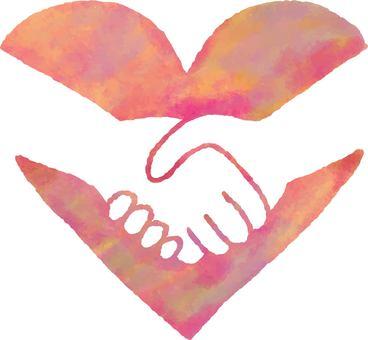 Heart 22_01 (handshake)