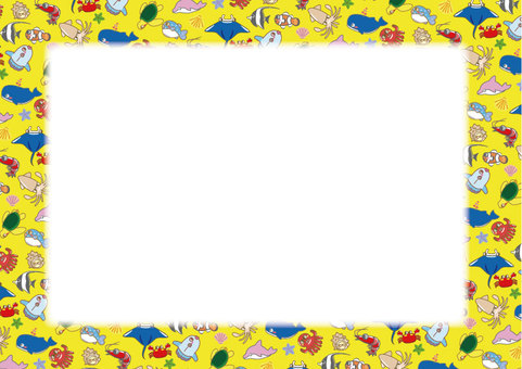 A collection of sea creatures! Stationery 04