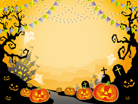 Seamless Halloween Background 4