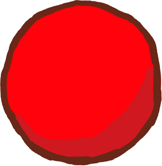Big ball red to use in athletic meet