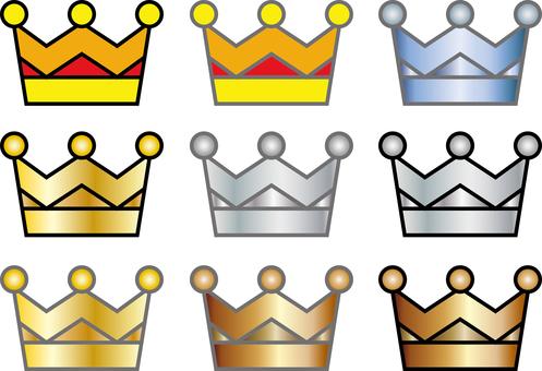 Free illustration Free material Jewel crown icon