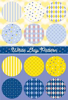 White Day Pattern Set
