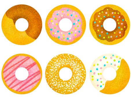 Donut 6 species