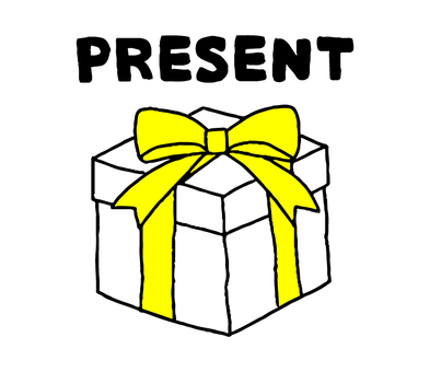 Present (simple character)