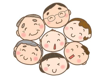 동그란 가족