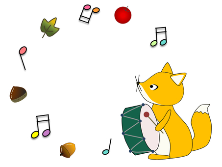 Animals _ Foxes _ Taiko drums