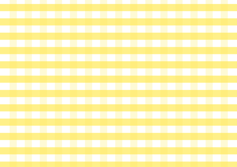 Gingham check yellow