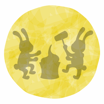 Moon view / rabbit