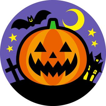 Halloween _ one point _ 02 _ purple