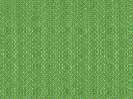 니트 패턴 아가일 - 녹색