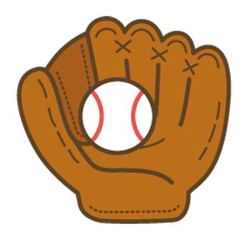 Baseball (glove and ball)