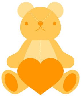 Teddy Bear - Yellow