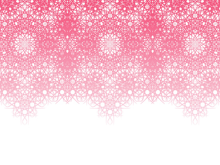 Braiding pattern (pink)