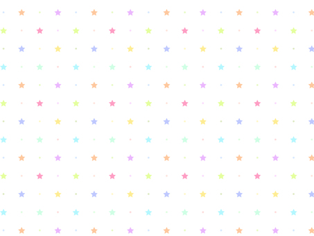 ai Star pattern with swatch background White