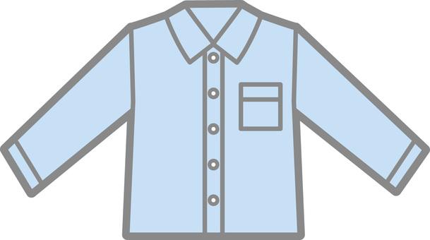Y shirt (blue)