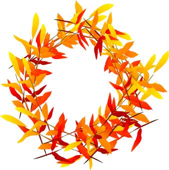 Leaf of dead leaves