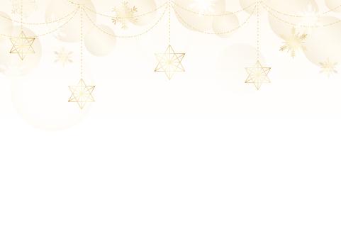 Christmas frame Himmeli